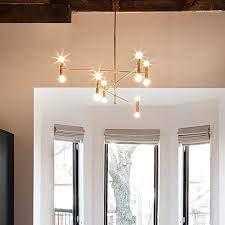chandelier and pendant lighting. YOKA Modern Pendant Lighting Ceiling Chandelier Hanging Lamp With 12 Lights Fixture Flush Mount, Gold Finish And