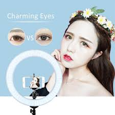 zomei portable camera led ring light kit with stand dimmable lighting kit makeup live for camera light phone camera for iphone x 8 7 plus for canon nikon