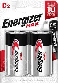 Купить <b>Батарейки Energizer</b> Max <b>D</b> 2шт с доставкой на дом по ...