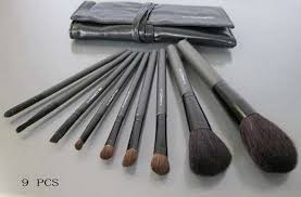 suppliers mac cosmetics brushes 9pcs