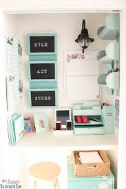 organizing office space. get organized in a small space with cloffice office closet organizing