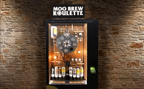 Beer Can Vending Machine Simple The World's First Beer Can Roulette Vending Machine Is At Newtown Hotel