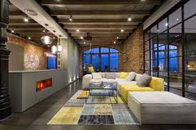 warehouse style lighting. Warehouse Style Loft With Stunning Visual Appeal View In Gallery . Lighting T