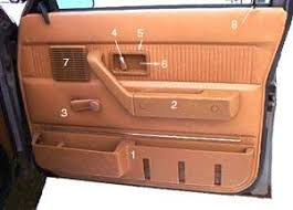 volvo 240 door interior parts