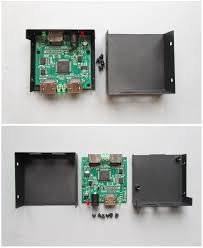 teardown tuesday a powered ultra high definition hdmi splitter news the uhd splitter disassembled only six screws are used to keep everything together