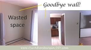 removing a non load bearing wall ouradventuresindiy cost to remove wall oming down copy how much does