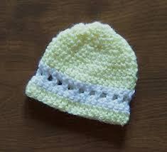 Crochet Preemie Hat Pattern Inspiration Free Easy Crochet Preemie Beanie Hat Pattern