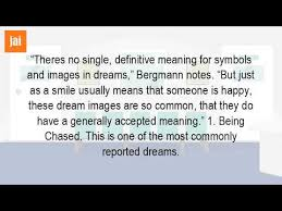 definitive meaning. what is the meaning of dreams definitive i