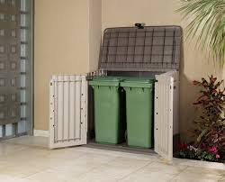 Outdoor Storage Cabinets With Doors Storage Tiny Rubbermaid Outdoor Storage With Three Doors To Hide
