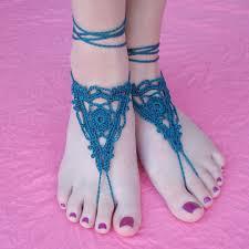 Crochet Barefoot Sandals Pattern Free