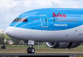 Dream Catcher Airplane PHTFK ArkeArkefly Boeing 100100 Dreamliner at Amsterdam 45
