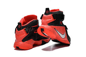 lebron cleats for sale. nike lebron soldier 9 black red basketball shoe-2 lebron cleats for sale