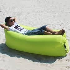 inflatable outdoor furniture. lazy air sofa portable outdoor inflatable folding beach sleeping bag in many furniture