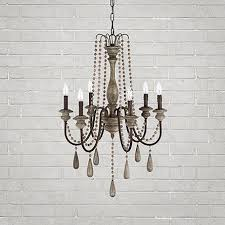 i love the rustic chic look of the louise chandelier its going to be amelie distressed chandelier perfect lighting
