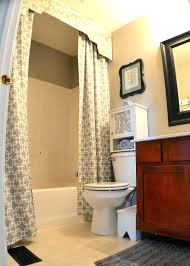 tie back shower curtains shower curtains with valance and tiebacks home design ideas shower curtains with