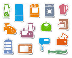 Kitchen And Home Appliances Kitchen Home Appliances Royalty Free Cliparts Vectors And Stock