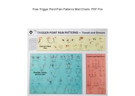 Free Trigger Point Chart Free Trigger Point Pain Patterns Wall Charts Pdf File