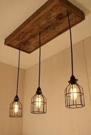 cage lighting. Handmade Cage Light Chandelier With 3 Lights Lighting