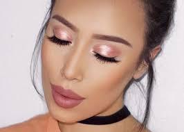 metallic makeup ideas to rock this winter