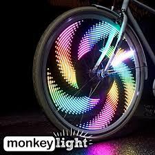 M232 Wheel Light Monkey Light M232 200 Lumen Bike Wheel Light 32 Full Color Led Waterproof