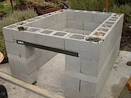 how to build a cinder block bbq pit outdoor kitchen ideas how to build a outdoor