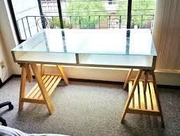 stupendous ikea desk top picture amazing white glass