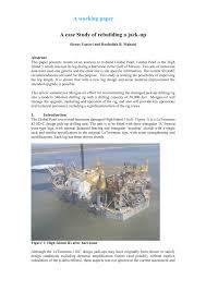 Jack Up Rig Design Criteria Pdf A Case Study Of Rebuilding A Jack Up