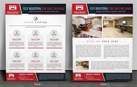 Commercial Flyers Elegant Serious Real Estate Agent Flyer Design For Patrick Graham