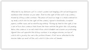 essay description description essay of a room