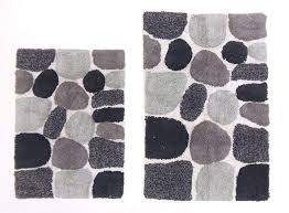 proven gray bathroom rugs non slip microfiber rug dark bath mats shower
