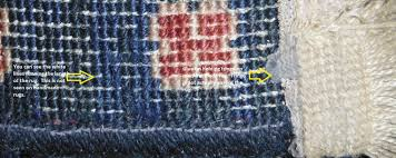 how to tell a machine made rug from a handmade rug