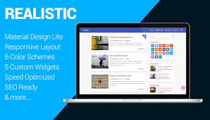 Small Picture Realistic Free Material Design Lite WordPress Theme Themient