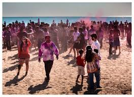 Holi on the Beach