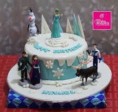 Frozen Theme Birthday Cake Customized Cakes In Lahore