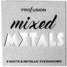 <b>Profusion</b> Cosmetics Mixed Metals <b>Eyeshadow</b> Palette - <b>Smoky</b>   BIG ...