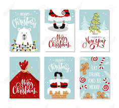Gift Cards For Christmas Christmas Gift Cards Or Tags With Lettering Hand Drawn Design