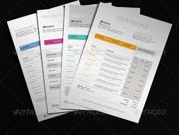 Modern Invoice 40 Invoice Templates Free Premium