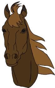 horse head clip art color. Brilliant Color Horse Head Clip Art 2971495 License Personal Use Inside Color O