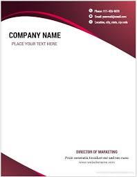 Letterhead Example 28 Great Ideas For Company Letterhead Template Word