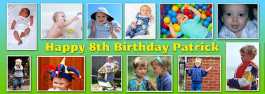 happy birthday banners personalized 12 photo personalised birthday banner personalised banners