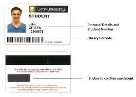 Antonella Current - College Card Template University Students Curtin id Identity Id Ildecoupagedi