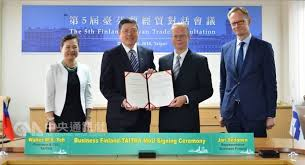 taiwan finland sign mou on economic trade cooperation