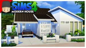 Small Picture Small Modern House The Sims 4 House Building YouTube