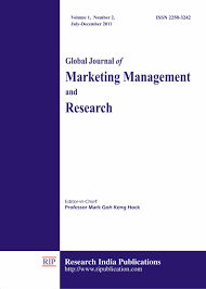gjmmr the global journal of marketing management and research
