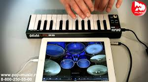 <b>MIDI контроллер AKAI</b> LPK25 - YouTube