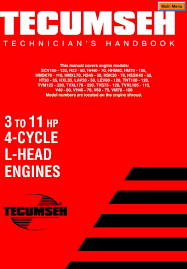 TECUMSEH 3 TO 11 HP 4-CYCLE L-HEAD ENGINES - PDF