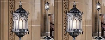 gothic lantern lighting. Aberdeen Manor Gothic Lantern Floor Lamp Lighting C