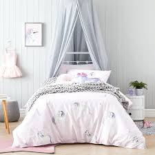 unicorn bedding for kids bedspread quilt home improvements catalog