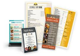 Bar Menu Design | Printables Corner