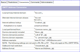 Won't 9 Mail Smtp The dot - Domino A Address Name Server Of Fault In With Incoming Accept Part Period